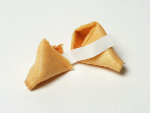 Yesterday's Fortune Cookie